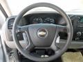 Dark Titanium Steering Wheel Photo for 2008 Chevrolet Silverado 1500 #53867722