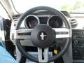 Charcoal Black/Dove Steering Wheel Photo for 2008 Ford Mustang #53870599