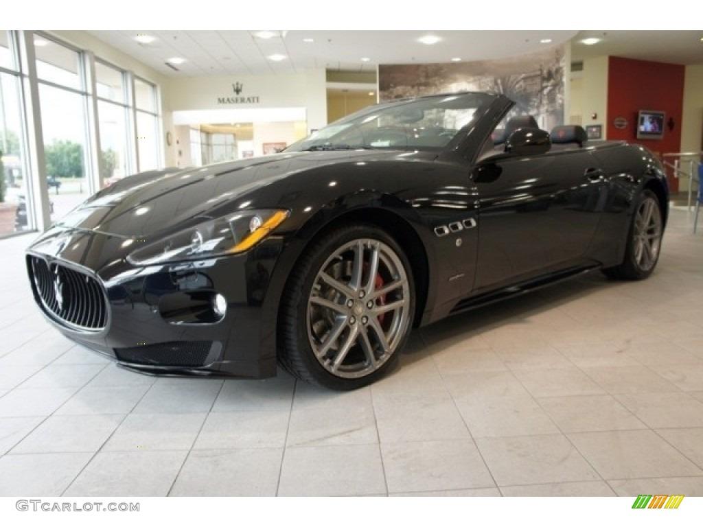 Nero (Black) 2012 Maserati GranTurismo Convertible ...