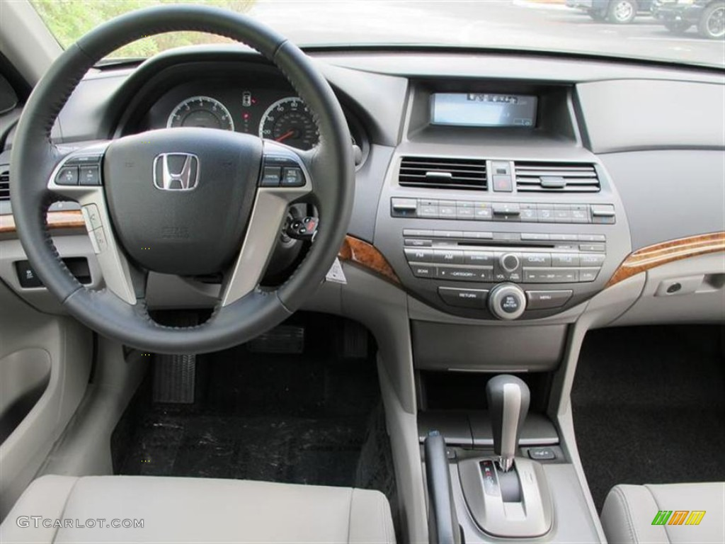 2012 Honda Accord Ex L V6 Sedan Gray Dashboard Photo
