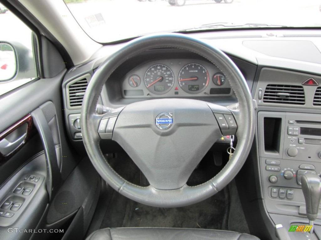 2003 Volvo S60 2.4T Graphite Steering Wheel Photo #53886968   GTCarLot.com