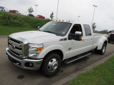 2011 Ford F350 Super Duty Lariat Crew Cab Dually Data, Info and Specs