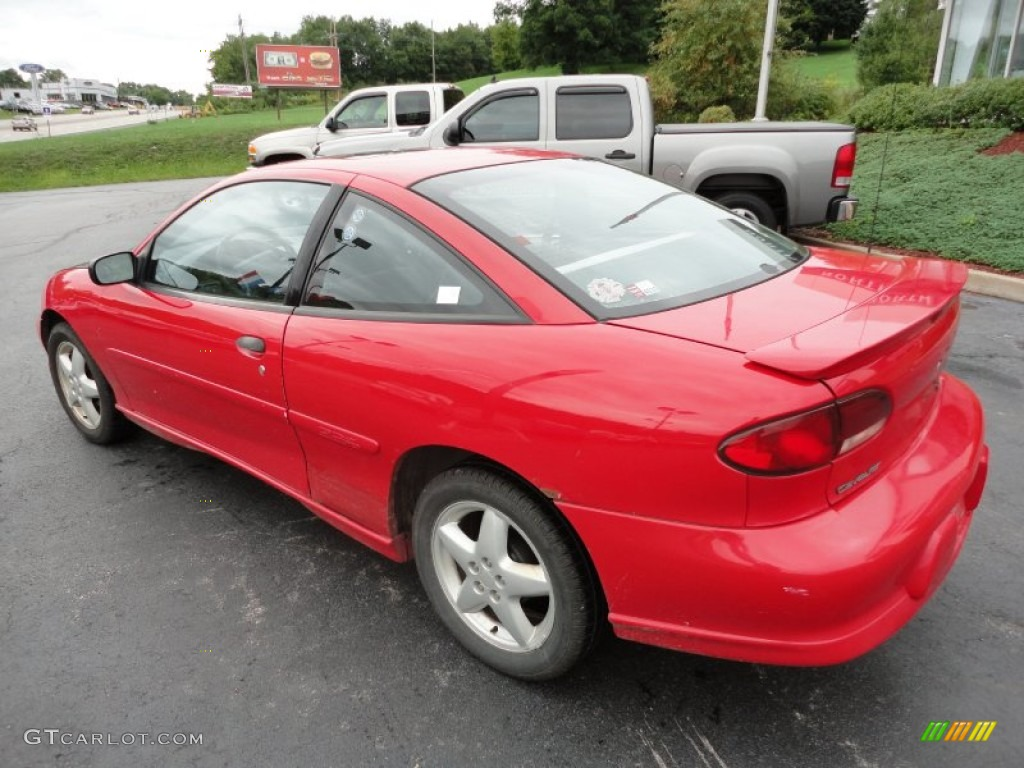 1997 bright red chevrolet cavalier z24 coupe 53857454 photo 3 gtcarlot com car color galleries gtcarlot com