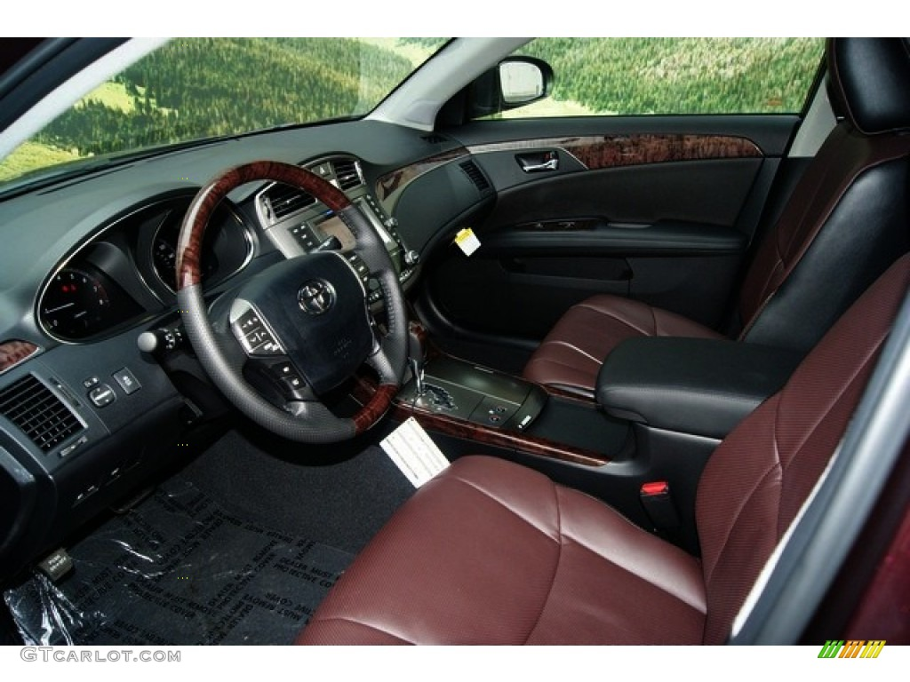 black bordeaux interior 2011 toyota avalon limited photo. Black Bedroom Furniture Sets. Home Design Ideas