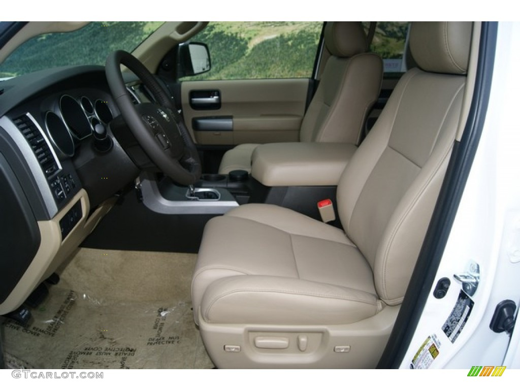2011 super white toyota sequoia limited 4wd 53857170 - Toyota sequoia interior dimensions ...