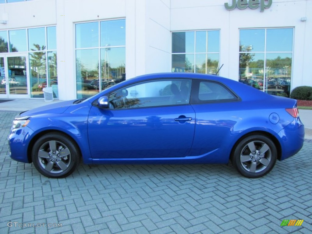 Corsa Blue 2010 Kia Forte Koup Ex Exterior Photo 53899961