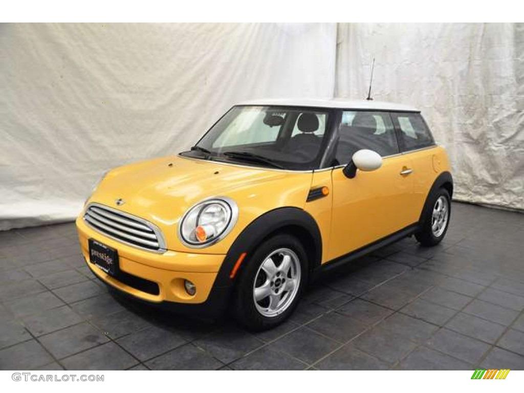 2008 mellow yellow mini cooper hardtop 52724475 car color galleries. Black Bedroom Furniture Sets. Home Design Ideas