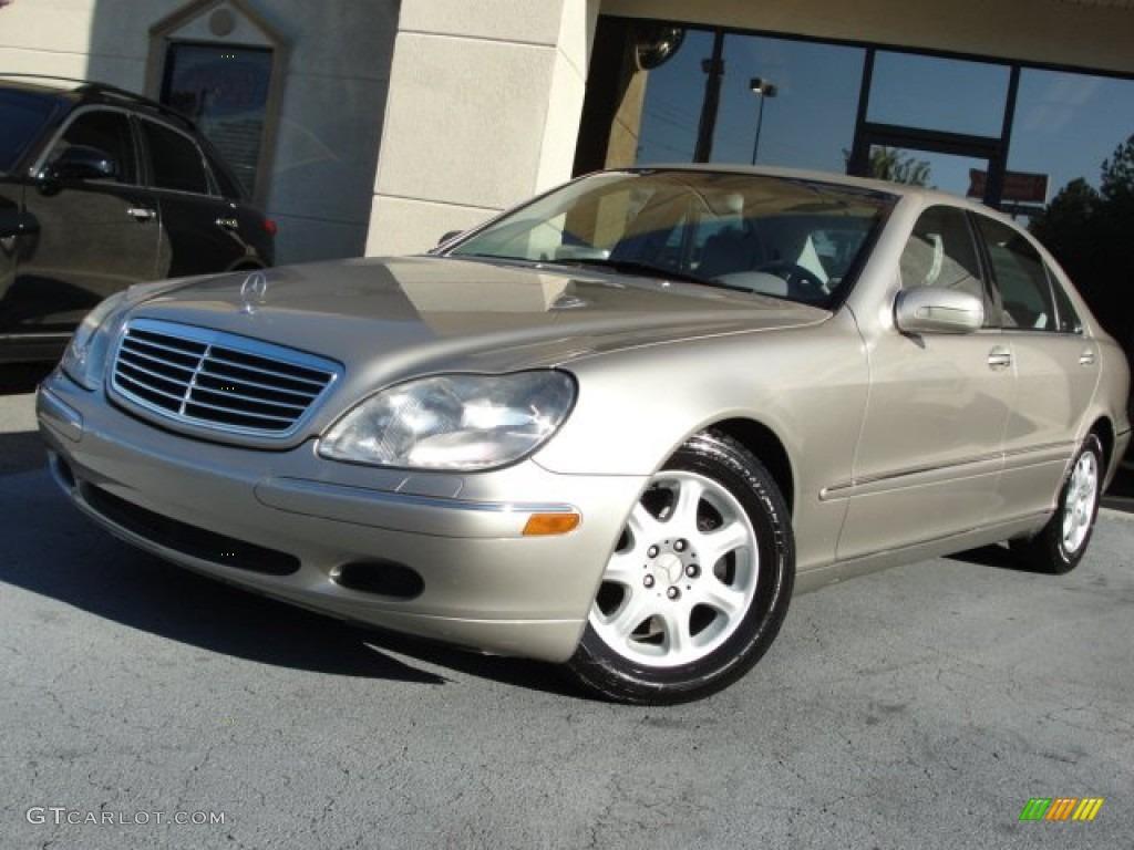 2000 desert silver metallic mercedes benz s 430 sedan for Mercedes benz s 430