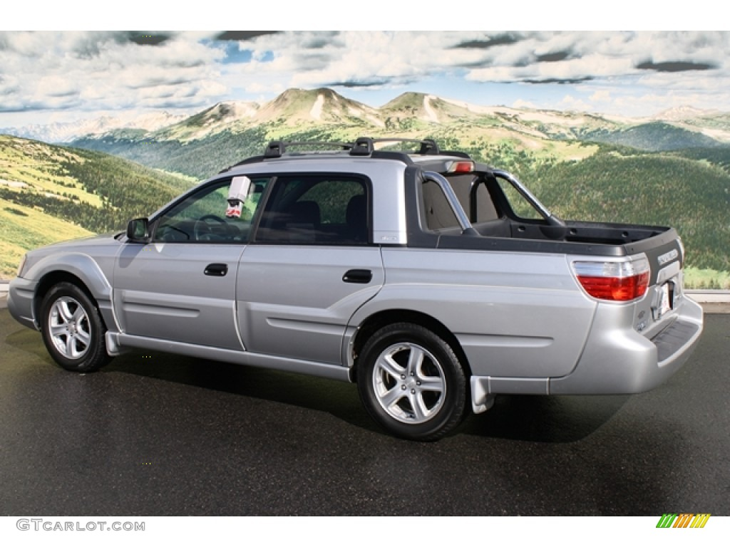 silver stone metallic 2003 subaru baja sport exterior. Black Bedroom Furniture Sets. Home Design Ideas