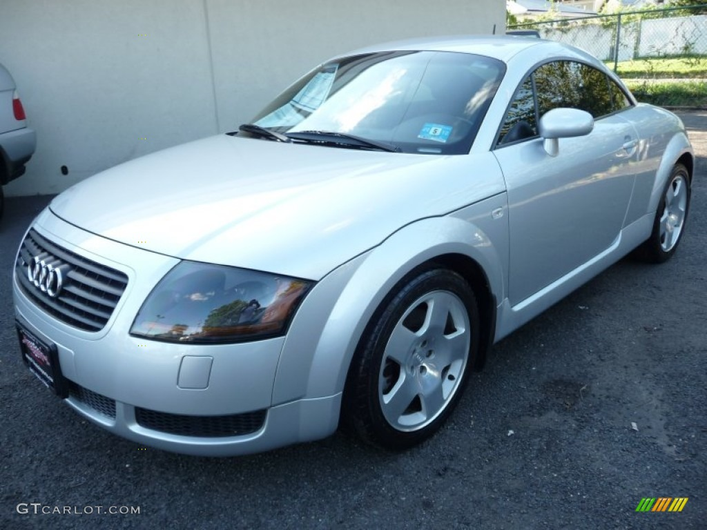 lake silver metallic 2001 audi tt 1 8t quattro coupe. Black Bedroom Furniture Sets. Home Design Ideas