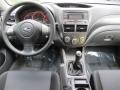 Carbon Black Dashboard Photo for 2008 Subaru Impreza #53913652