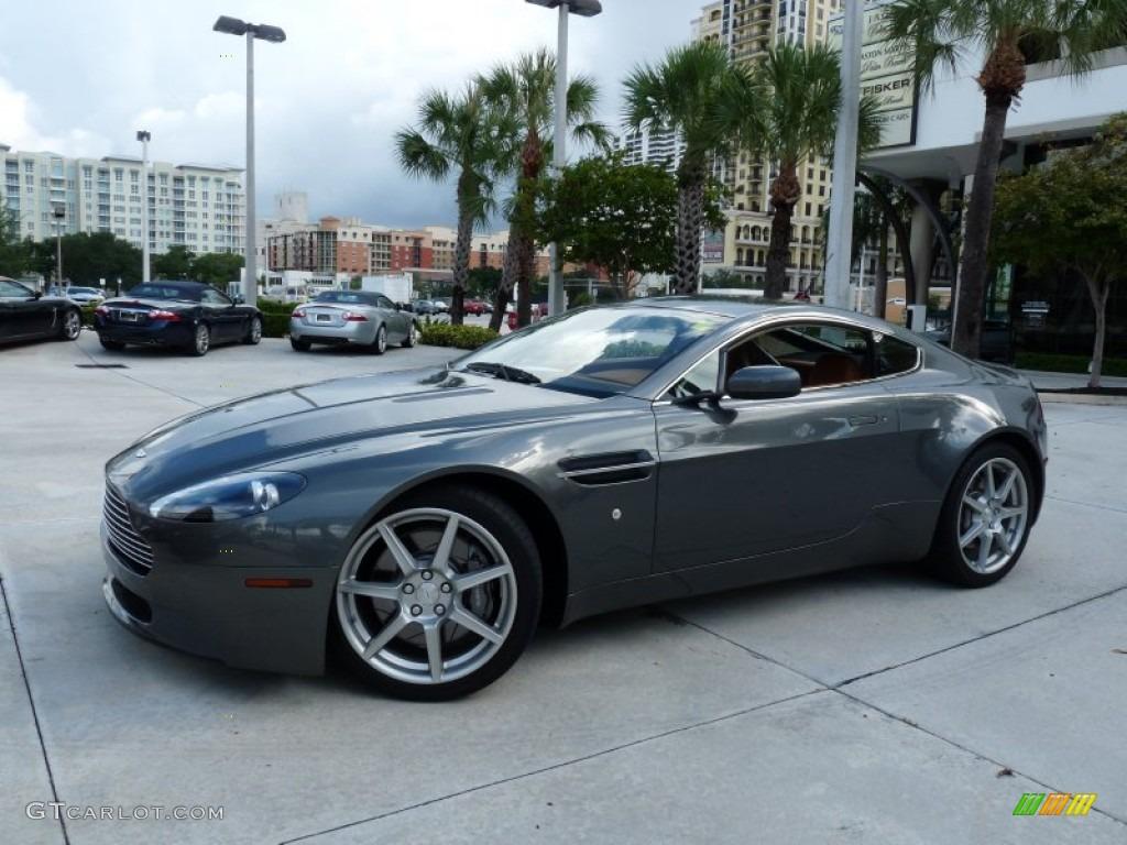 2006 Meteorite Silver Aston Martin V8 Vantage Coupe 53904241 Gtcarlot Com Car Color Galleries