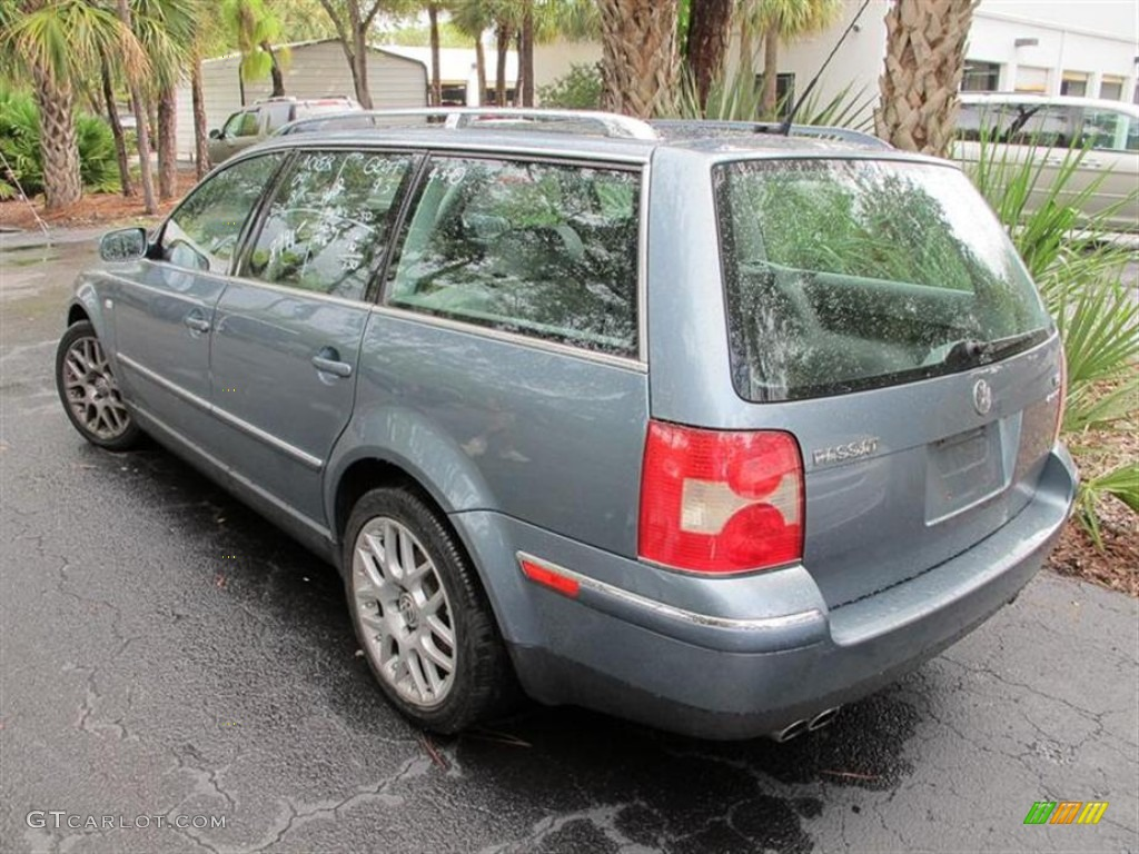 blue graphite metallic 2004 volkswagen passat w8 4motion wagon exterior photo 53913874. Black Bedroom Furniture Sets. Home Design Ideas