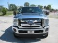 2012 Sterling Grey Metallic Ford F250 Super Duty XLT Crew Cab 4x4  photo #3
