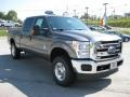 2012 Sterling Grey Metallic Ford F250 Super Duty XLT Crew Cab 4x4  photo #4