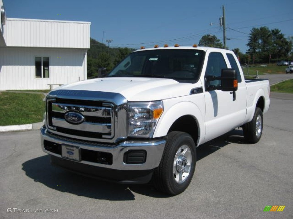 Oxford white 2012 ford f250 super duty xlt supercab 4x4 exterior photo 53915774