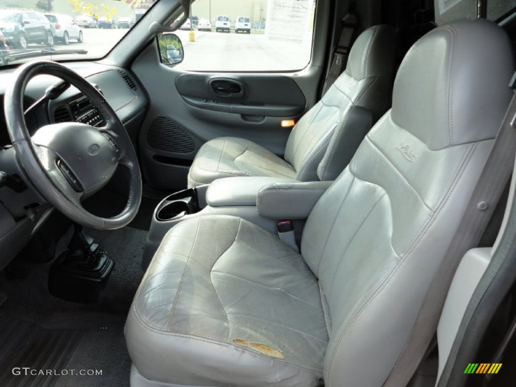 1999 Ford F150 Lariat Regular Cab 4x4 Interior Color ...