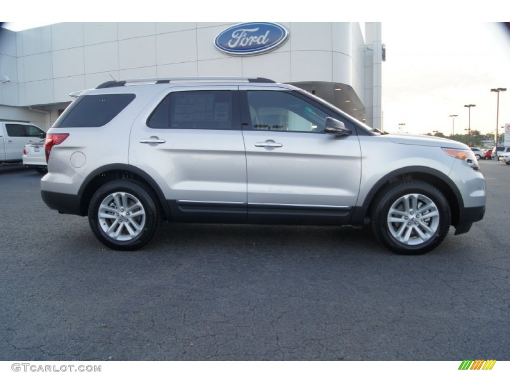 Ingot Silver Metallic 2012 Ford Explorer XLT Exterior Photo #53920615