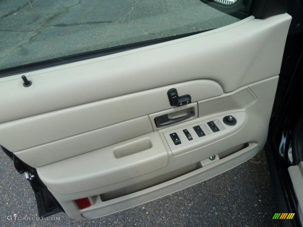 2011 Ford Crown Victoria Lx Medium Light Stone Door Panel Photo 53921329