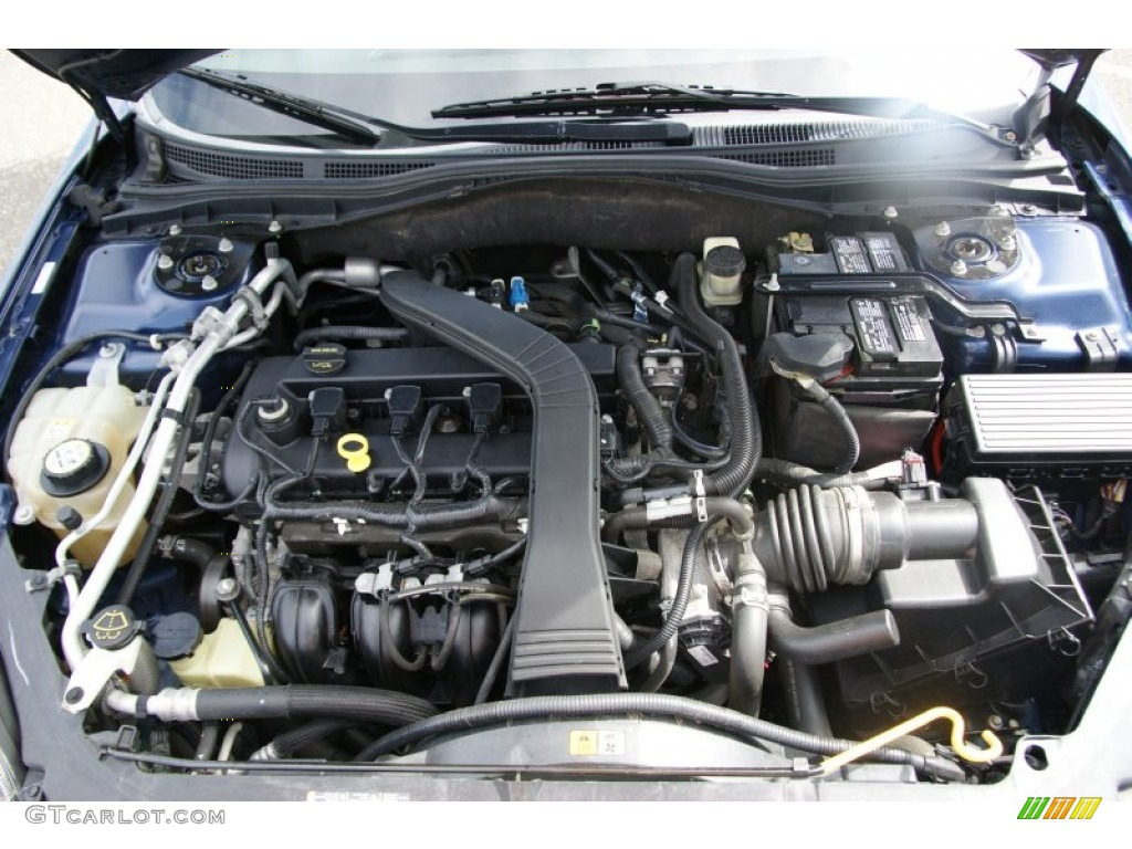 2006 ford fusion s 2 3l dohc 16v ivct duratec inline 4 cyl engine photo 53925463. Black Bedroom Furniture Sets. Home Design Ideas