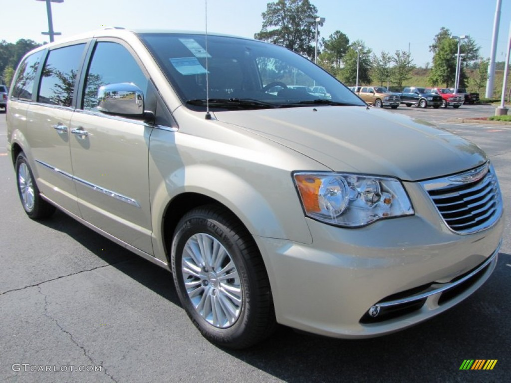white gold metallic 2012 chrysler town country touring. Black Bedroom Furniture Sets. Home Design Ideas