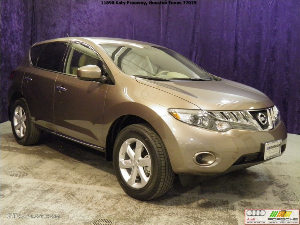 2010 Murano S - Tinted Bronze Metallic / Beige photo #1