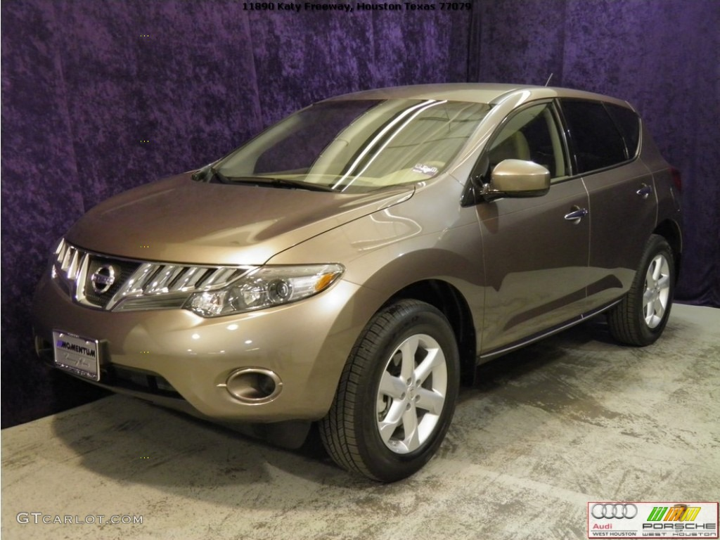 2010 Murano S - Tinted Bronze Metallic / Beige photo #2