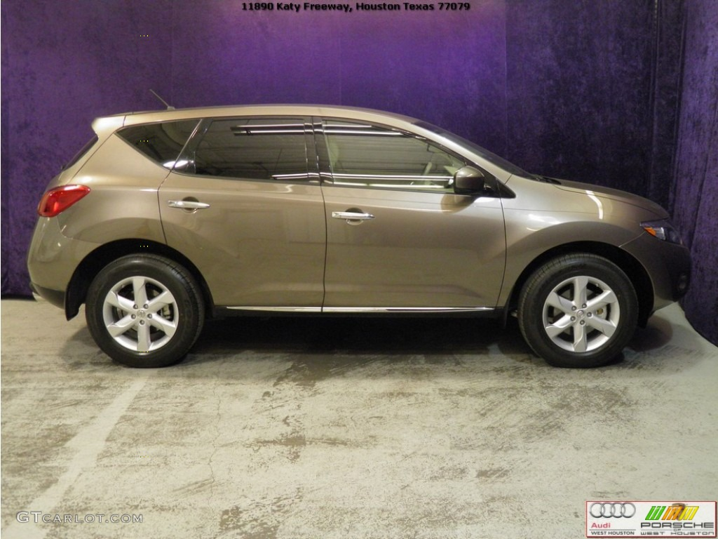 2010 Murano S - Tinted Bronze Metallic / Beige photo #4