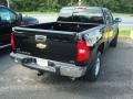 2011 Black Chevrolet Silverado 1500 LTZ Extended Cab 4x4  photo #2