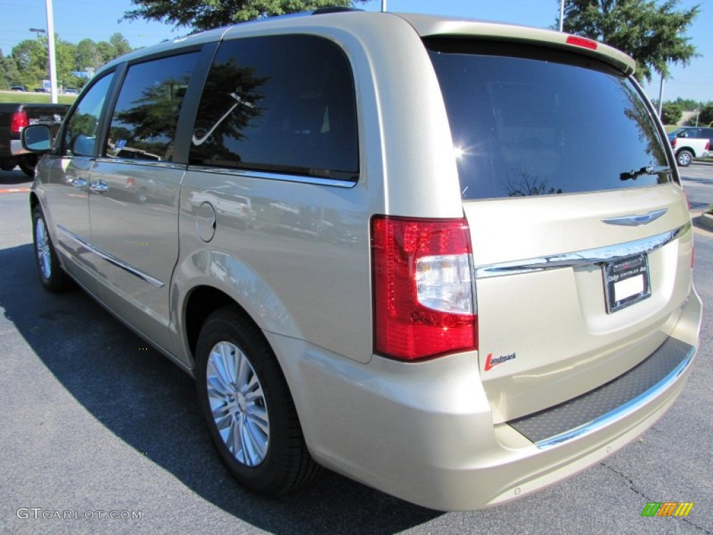 white gold metallic 2012 chrysler town country limited exterior photo 53926354. Black Bedroom Furniture Sets. Home Design Ideas