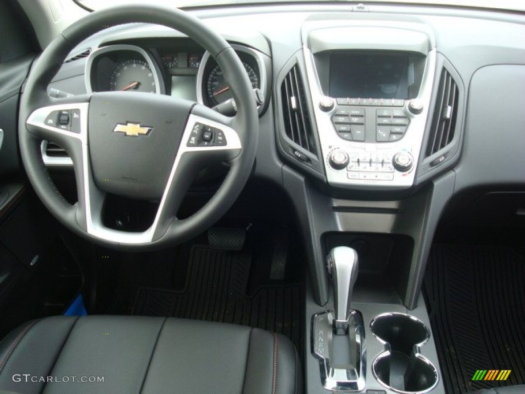 2012 Chevrolet Equinox LTZ AWD Jet Black Dashboard Photo ...