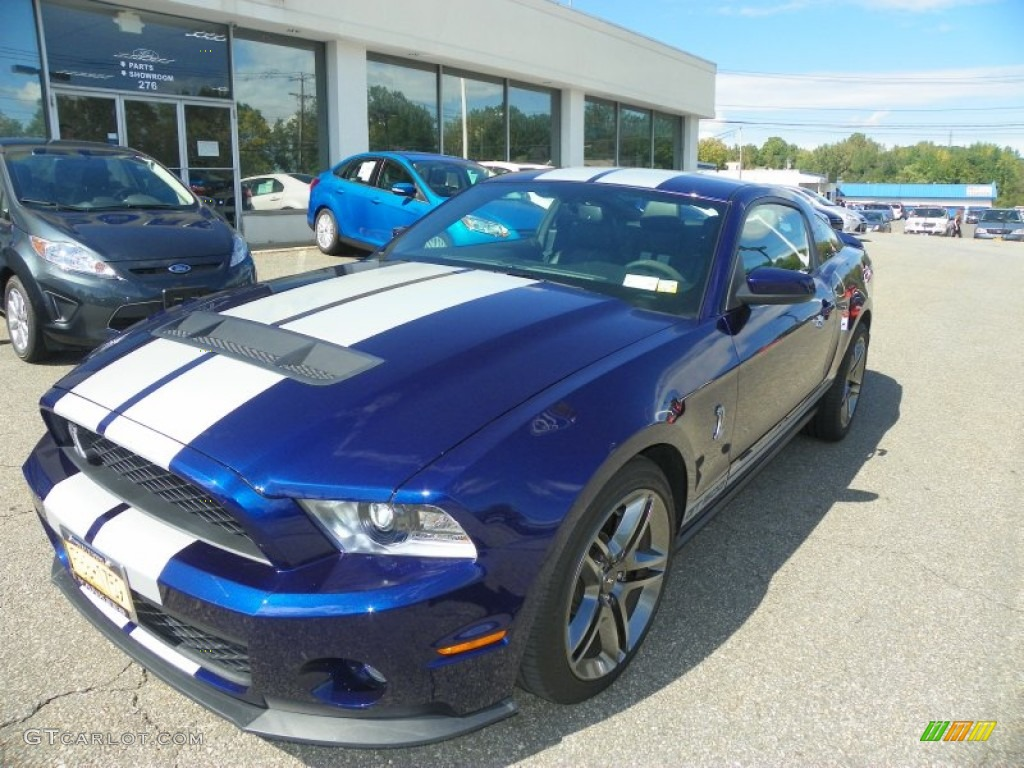 Kona Blue Metallic 2011 Ford Mustang Shelby Gt500 Coupe