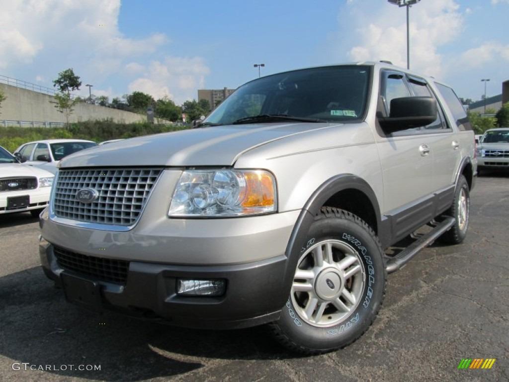 Silver Birch Metallic 2004 Ford Expedition XLT 4x4 ...