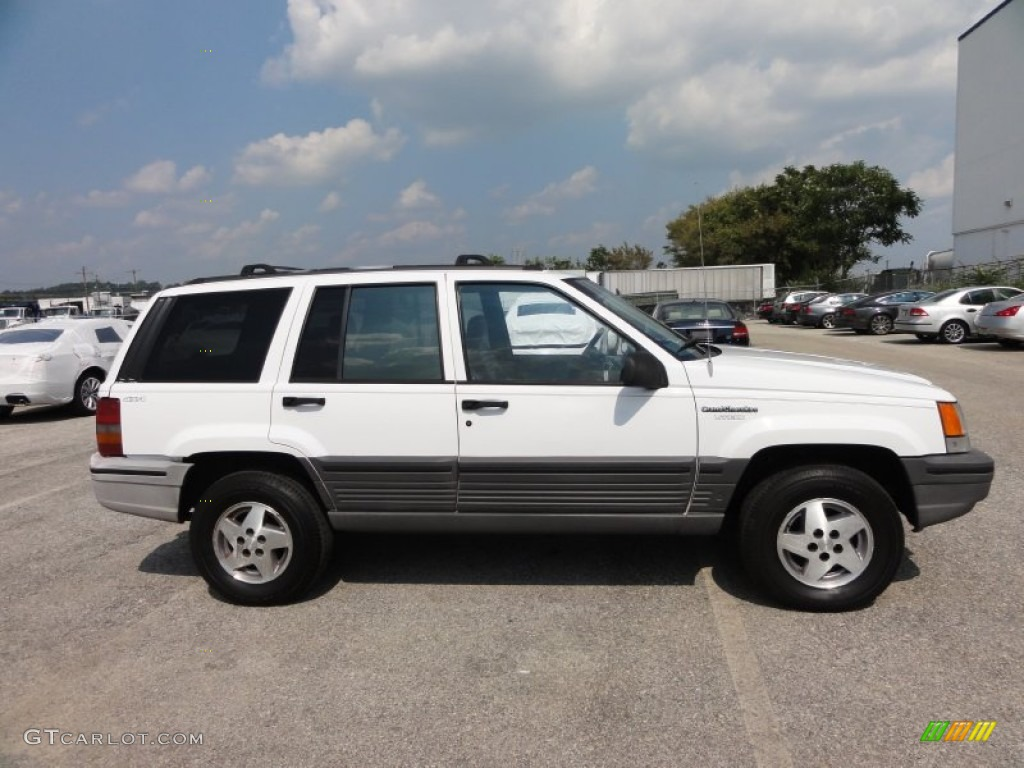 stone white 1995 jeep grand cherokee laredo 4x4 exterior photo 53943110. Black Bedroom Furniture Sets. Home Design Ideas