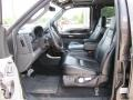 Black Leather 2007 Ford F250 Super Duty Interiors