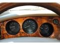 2002 Jaguar XK Ivory Interior Gauges Photo