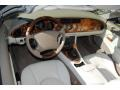 2002 Jaguar XK Ivory Interior Interior Photo