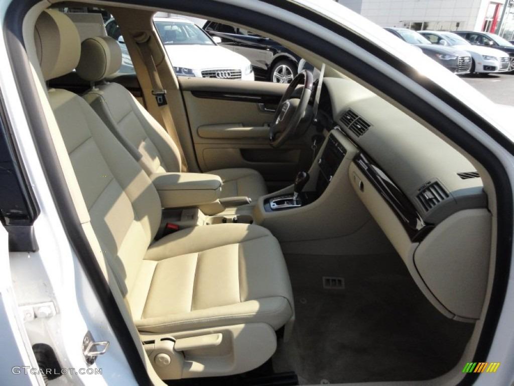 Beige Interior 2008 Audi A4 20t Quattro S Line Sedan Photo