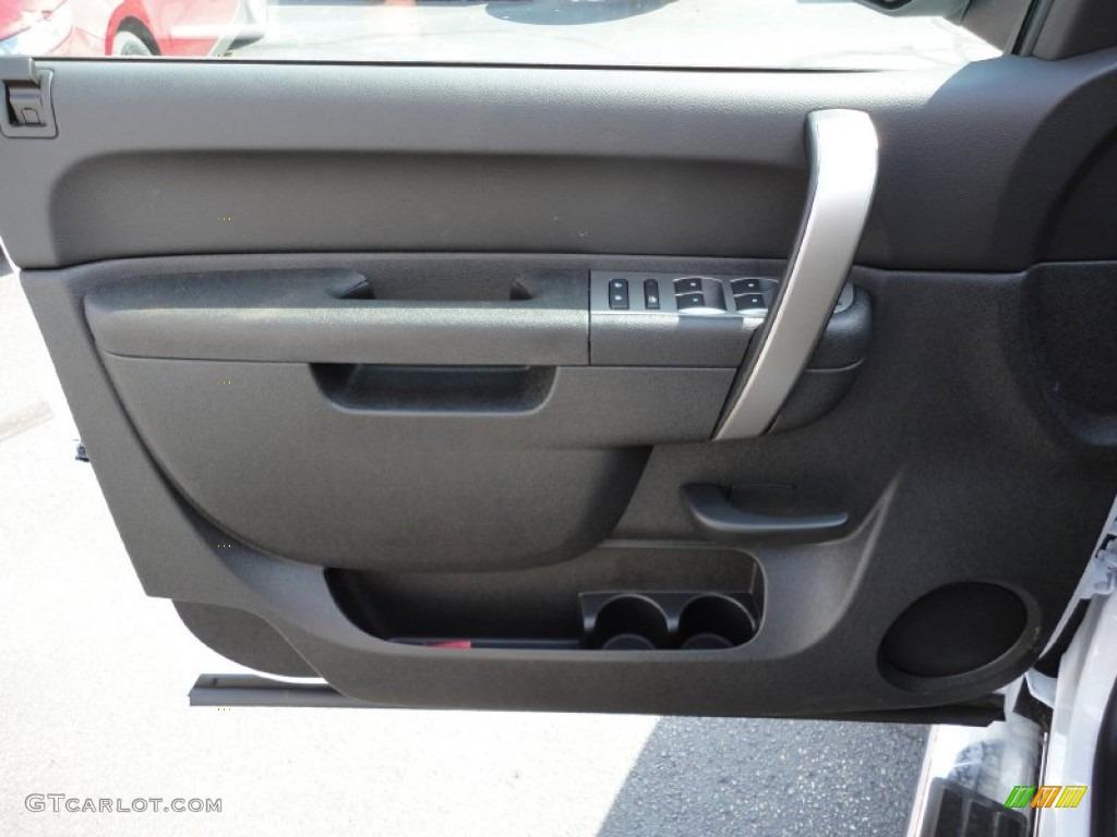 2012 Chevrolet Silverado 1500 Lt Crew Cab 4x4 Ebony Door Panel Photo 53951278