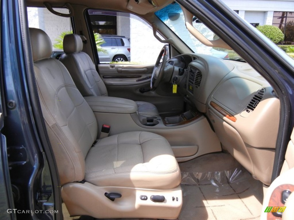 2001 Charcoal Blue Metallic Lincoln Navigator 4x4 53941268 Photo 20 Car Color