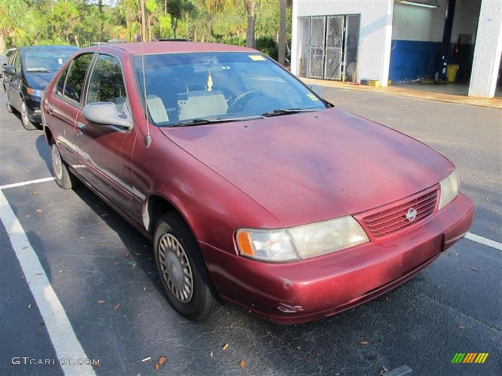 Ruby red pearl nissan sentra