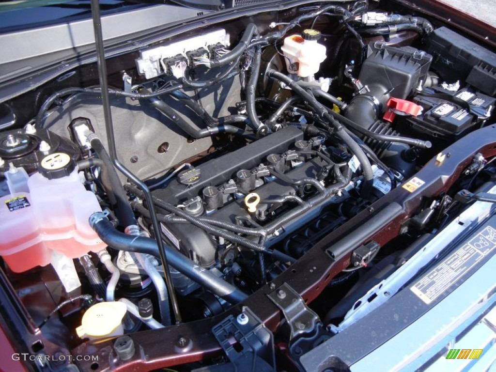 2012 ford escape limited 2 5 liter dohc 16 valve duratec 4 cylinder engine photo 53967858. Black Bedroom Furniture Sets. Home Design Ideas