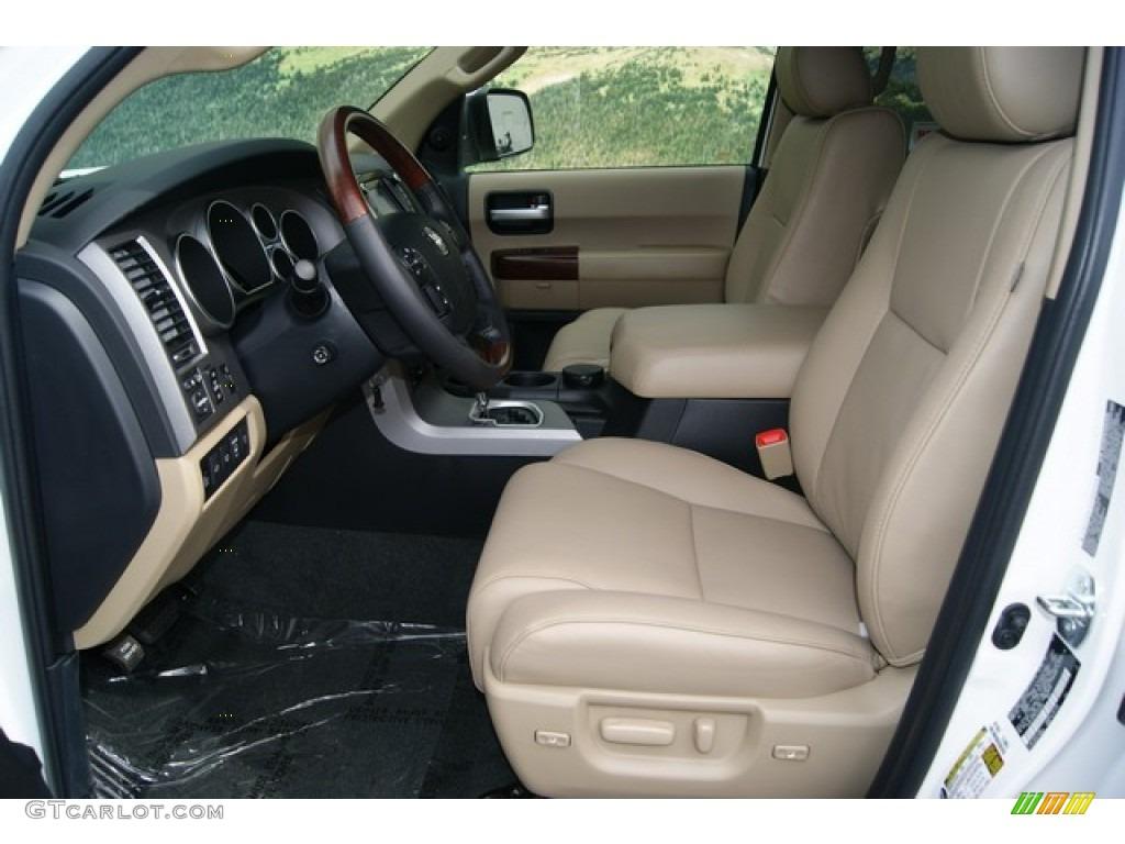 2012 Toyota Sequoia Platinum 4wd Interior Photo 53970261