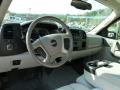 2007 Silver Birch Metallic GMC Sierra 2500HD SLE Extended Cab 4x4  photo #10