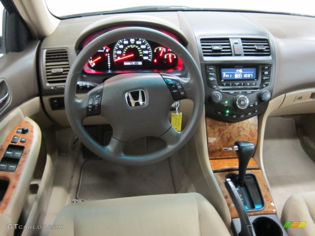2004 honda accord ex sedan ivory dashboard photo 53978737