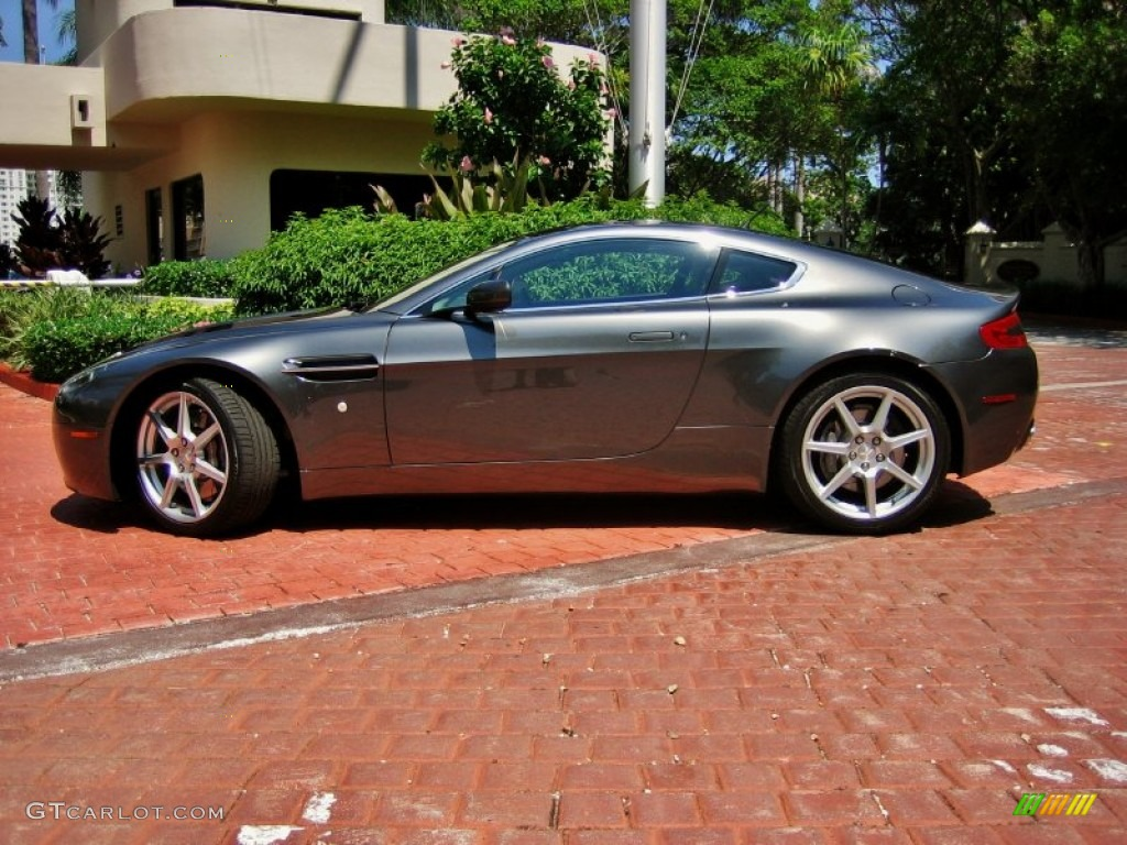 meteorite silver 2007 aston martin v8 vantage coupe exterior photo. Cars Review. Best American Auto & Cars Review