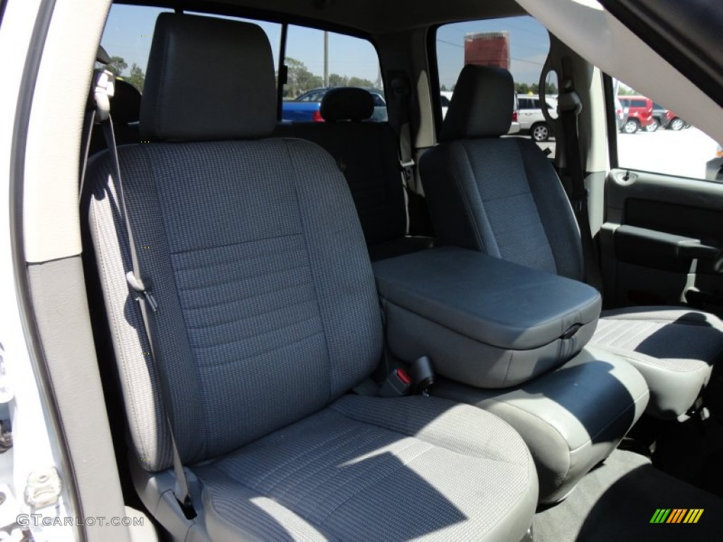 Medium Slate Gray Interior 2008 Dodge Ram 1500 Big Horn Edition Quad Cab Photo 53985281
