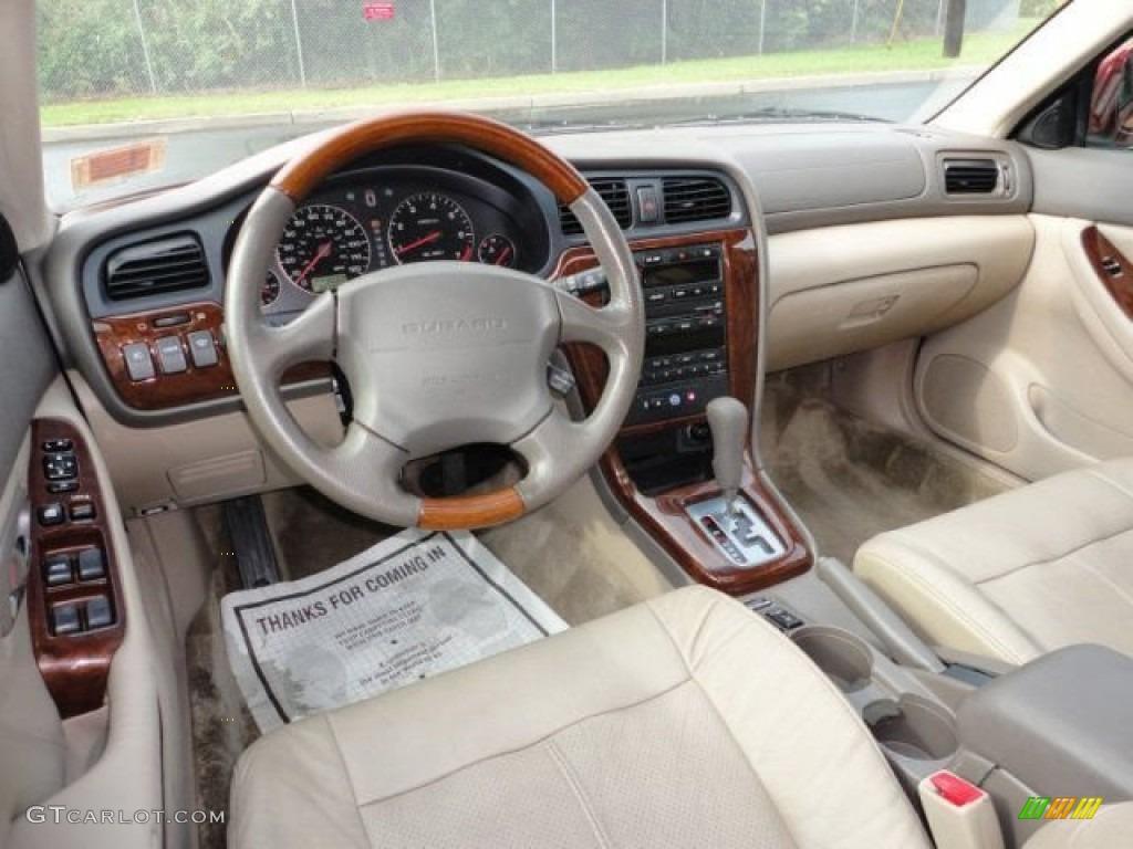 2004 Subaru Outback 3 0 L L Bean Edition Wagon Beige Dashboard