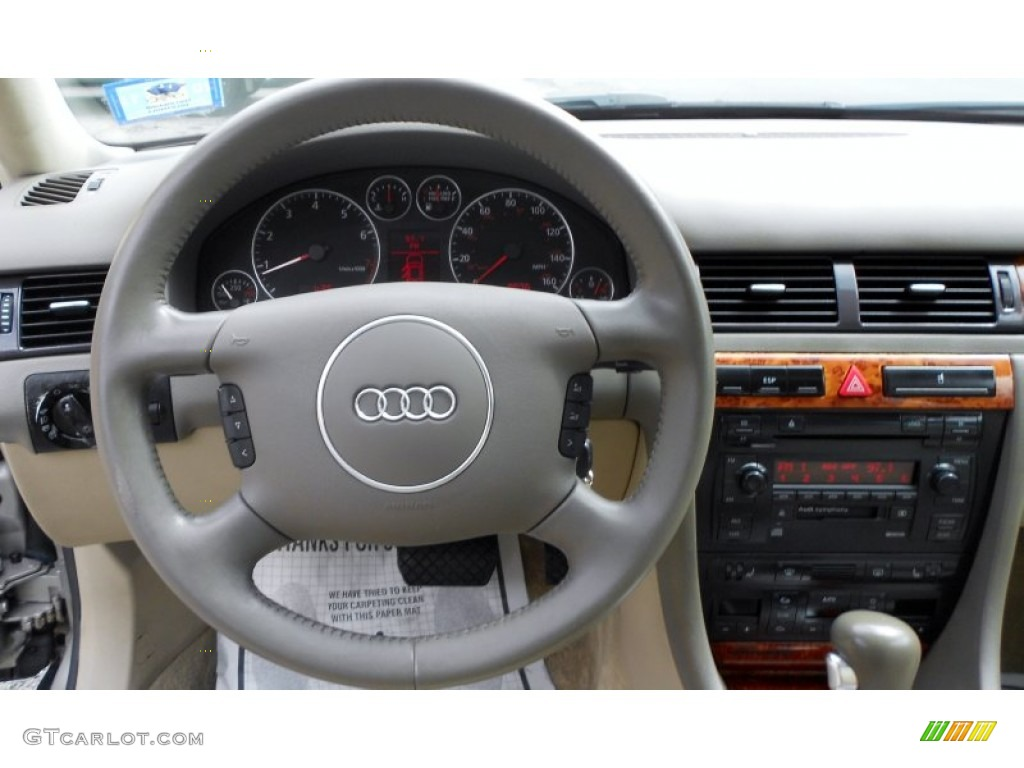 2002 audi a6 3 0 quattro avant beige steering wheel photo 53985935. Black Bedroom Furniture Sets. Home Design Ideas