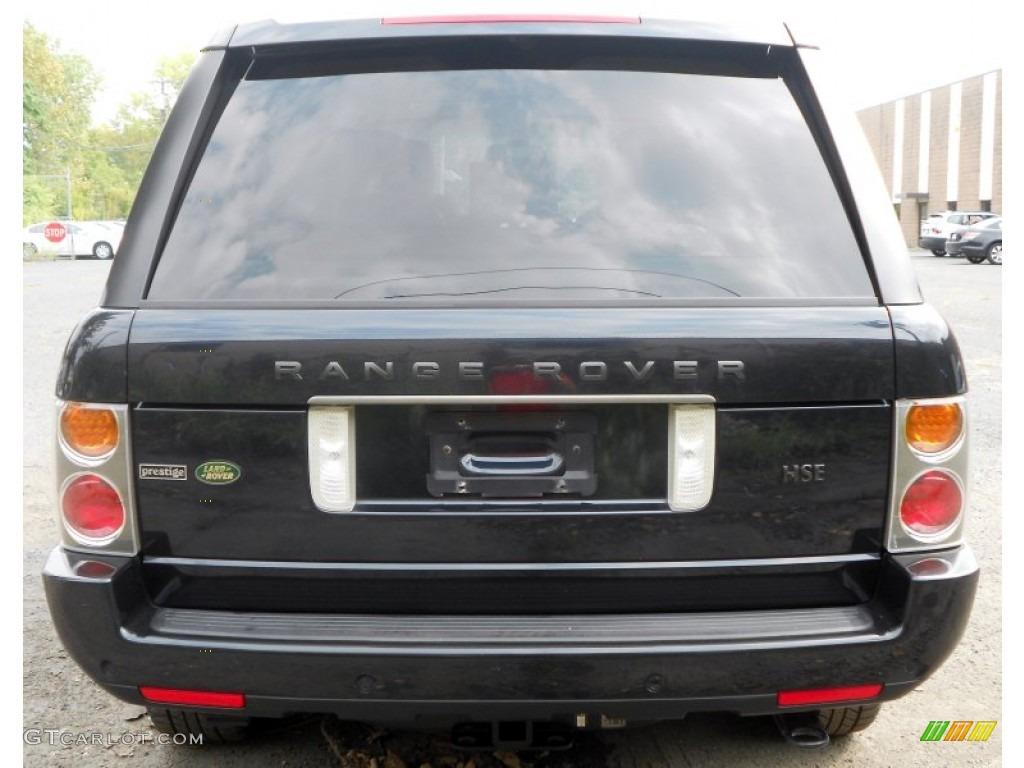 Java black 2004 land rover range rover hse exterior photo for Range rover exterior design package